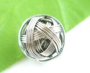 Metal wire perle 15 mm