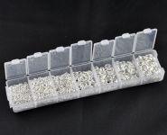 O-ringe sortiment Sølvbelagt