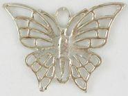 Vedhæng sommerfugl 34x45 mm