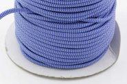 Faldskærmsline 6 mm Blå/hvid bølge