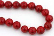 Rød Turkis rund 14 mm