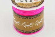 Knyttesnor Hot Pink 1 mm Nylon