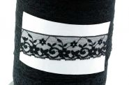 Lace til Choker sort 29 mm bred