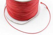 Knyttesnor 0,5 mm Vokset Rød Polyester 180 mtr