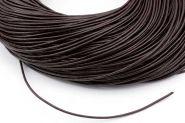 Lædersnøre mørk brun