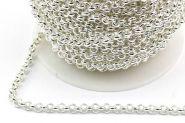 Rustfri stål kæde Sølvfarve 3 mm