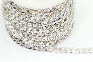 Rustfri stål Figaro kæde Sølvfarve