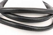 Ægte lammeskind indersyet mørk brun 6 mm 80 cm