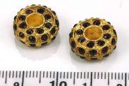 Rhinsten rhondel 5 mm hul