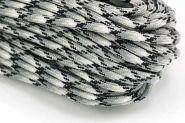 Faldskærmsline 4 mm grå camo
