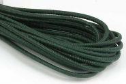 Imiteret slangeskind Grøn 4 mm 1/2 mtr.