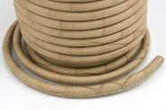 Imiteret slangeskind creme B  6 mm.