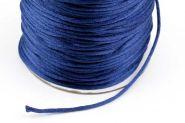 Knyttesnor 2 mm Midnats Blå