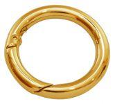 Smykkelås click on 37 mm guldfarve