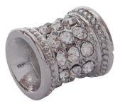Rhinsten perle Platinum farvet