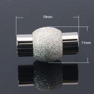Rustfri stål lås stardust hul 5,5 mm