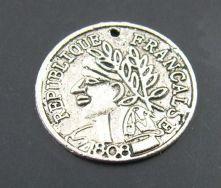 Vedhæng mønt 18 mm