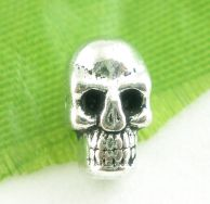 Metalperle skull 5x9 mm