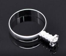 Fingerring til perle 18,3 mm