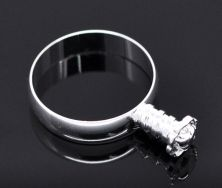 Fingerring til perle 19,1 mm