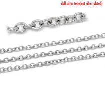 Kæde rustfri stål kæde 3x2,5 mm