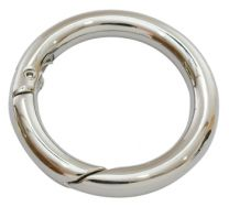 Smykkelås click on 44 mm platinfarve