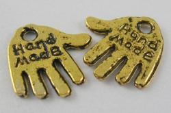 Tibetanske sølv Vedhæng Gold