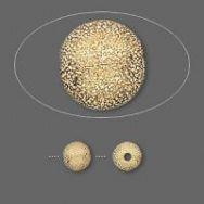 Stardust perler 6 m/m gold