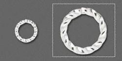 O-ring sølvbelagt twisted 6 mm hul