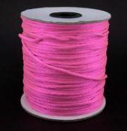 Knyttesnor pink 2 mm