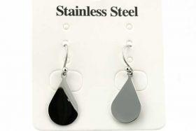 Rustfri stål ørehænger dråbe