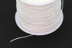 Nylontråd Hvid 0,4 mm rulle med 100 mtr