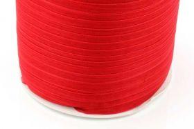 Rød Organza bånd 6 mm Hel Rulle
