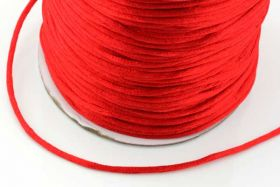 Knyttesnor 2mm rød