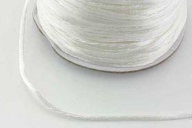Knyttesnor 2mm hvid
