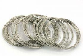 Memory wire til armbånd rustfri stål 0,6 mm