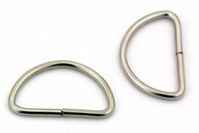 D Ring 28,5 x 17,2mm  10 stk