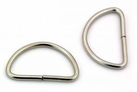 D Ring 28,5 x 17,2mm  10 stk