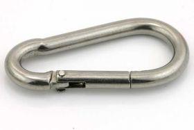 Karabinlås 25 x 50 mm Rustfri stål