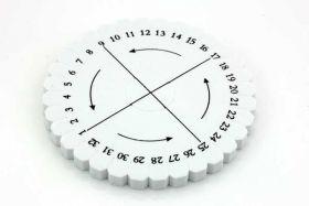 Kumihimo hjul Rund 10,3 cm i diam