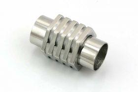 Rustfri stål lås med 8 mm hul