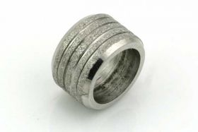 Rustfri stål led med 8 mm hul stardust