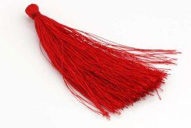Kvast 8,0 cm rød