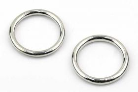 O-ringe Lukkede 15 mm Hul 5 stk
