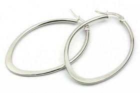 Ørehængere rustfri stål Sølv