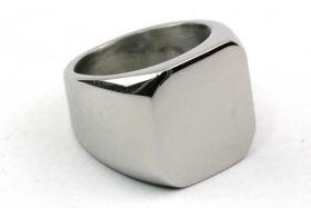 Fingerring Titanium Stål str. 18,3 mm