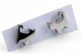 Ørestikker rustfri stål kat 8 mm
