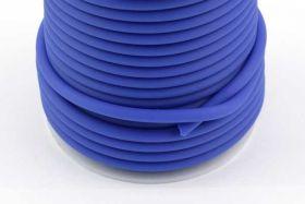 Gummisnøre blå