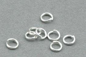 O-ringe rustfri stål hul 2,3 mm 50 stk