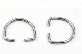 D Ring 24 x 28,5 mm Åben 2 stk